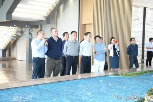 省文化和旅游厅党组书记、厅长褚子育带队到嘉善开展文化旅游工作调研